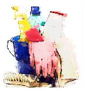 reinigen und putzen